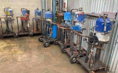 Graco King Air Driven Pneumatic Pumps