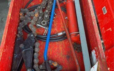 Hydraulic/Chain pipe cutters